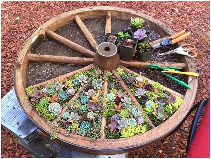 10 Things to Use for Making a Round Garden Bed 1
