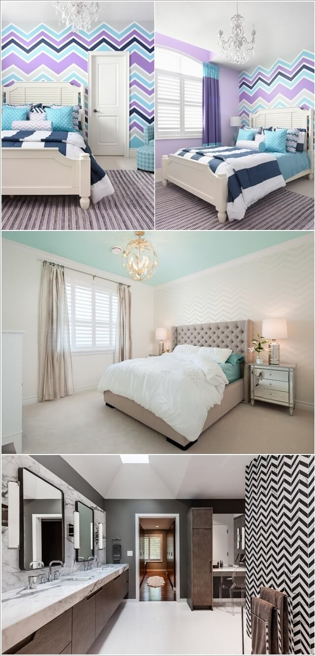 15 Uniquely Chic Ways to Decorate Your Home with Chevron Pattern 2