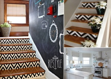 15 Uniquely Chic Ways to Decorate Your Home with Chevron Pattern fi