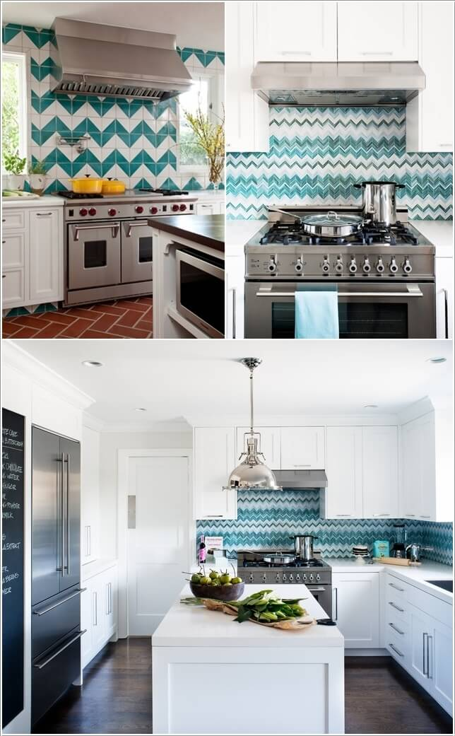15 Uniquely Chic Ways to Decorate Your Home with Chevron Pattern 5