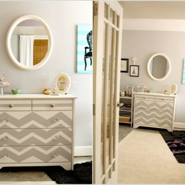 15 Uniquely Chic Ways to Decorate Your Home with Chevron Pattern 6