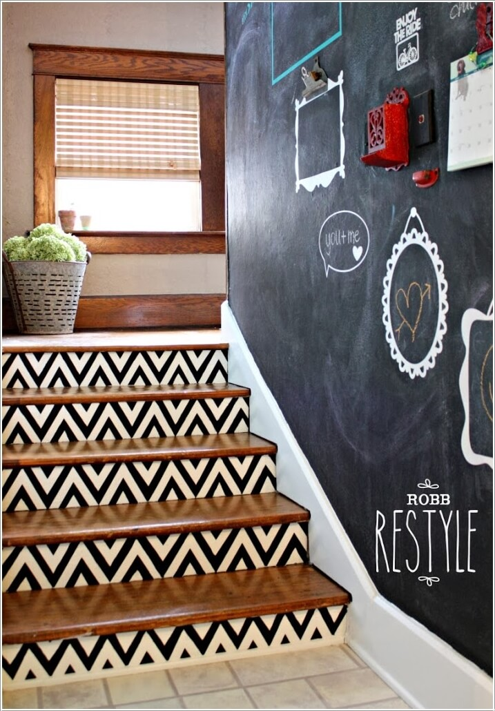15 Uniquely Chic Ways to Decorate Your Home with Chevron Pattern 1