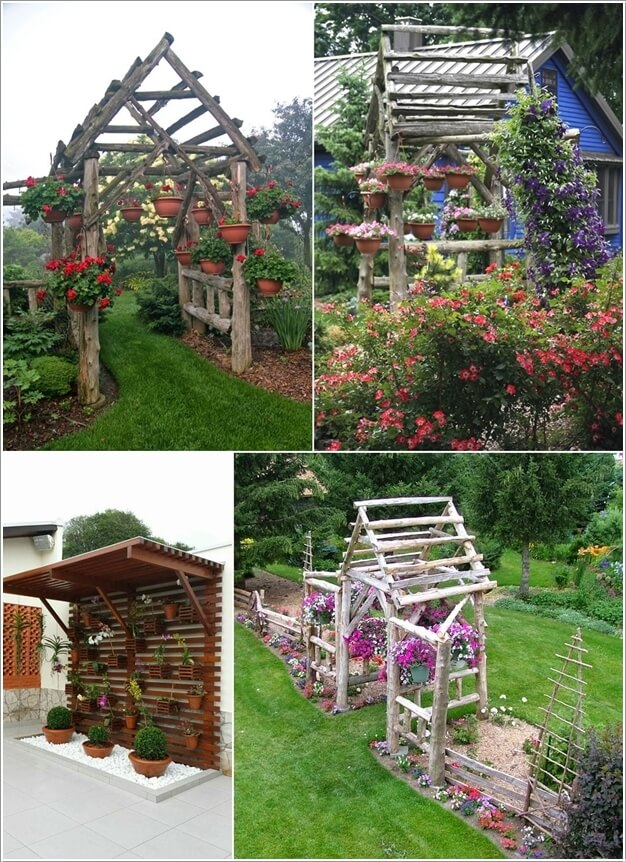 10 Ways to Create a Garden Feature With a Pergola 1