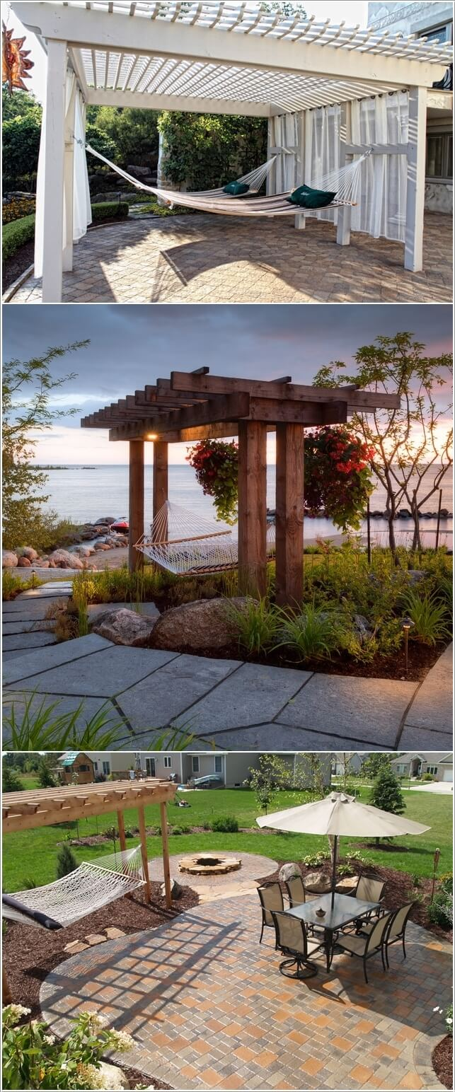 10 Ways to Create a Garden Feature With a Pergola 3