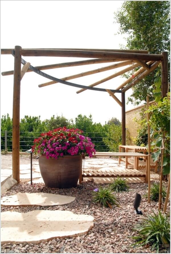 10 Ways to Create a Garden Feature With a Pergola 4