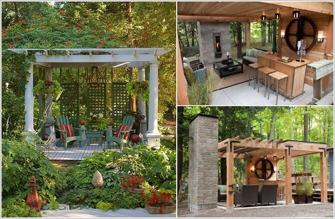 10 Ways to Create a Garden Feature With a Pergola 5