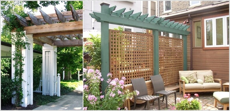 10 Ways to Create a Garden Feature With a Pergola 6