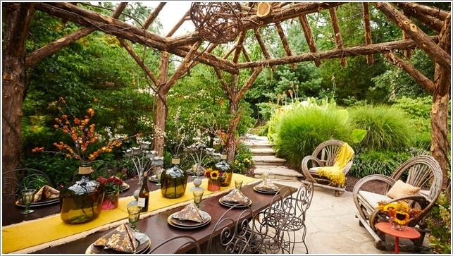 10 Ways to Create a Garden Feature With a Pergola 7