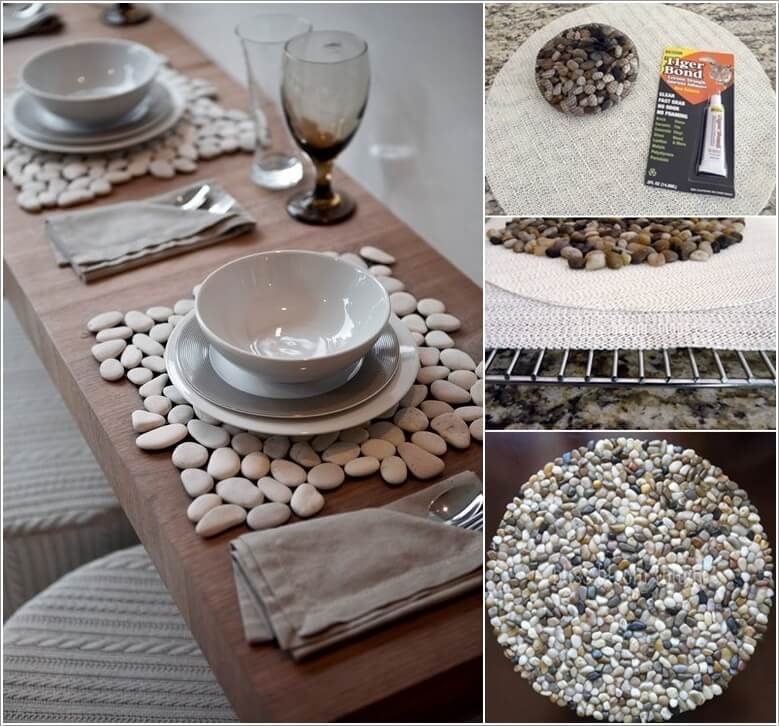 10 Wonderful DIY Placemat Ideas For Your Dining Table 3