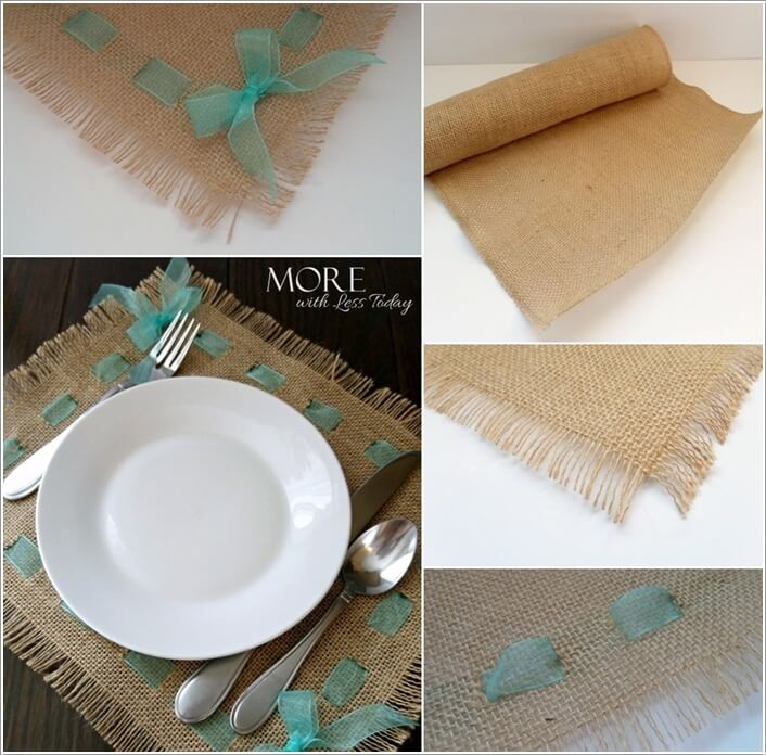 10 Wonderful DIY Placemat Ideas For Your Dining Table 4