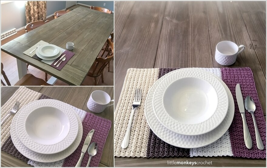 10 Wonderful DIY Placemat Ideas For Your Dining Table 8