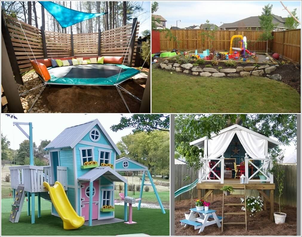 Super Cool Ideas For A Backyard Kids Play Area - Backyard play area ideas