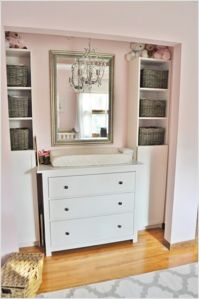 15 Clever Ways to Claim An Unused Closet Space 13