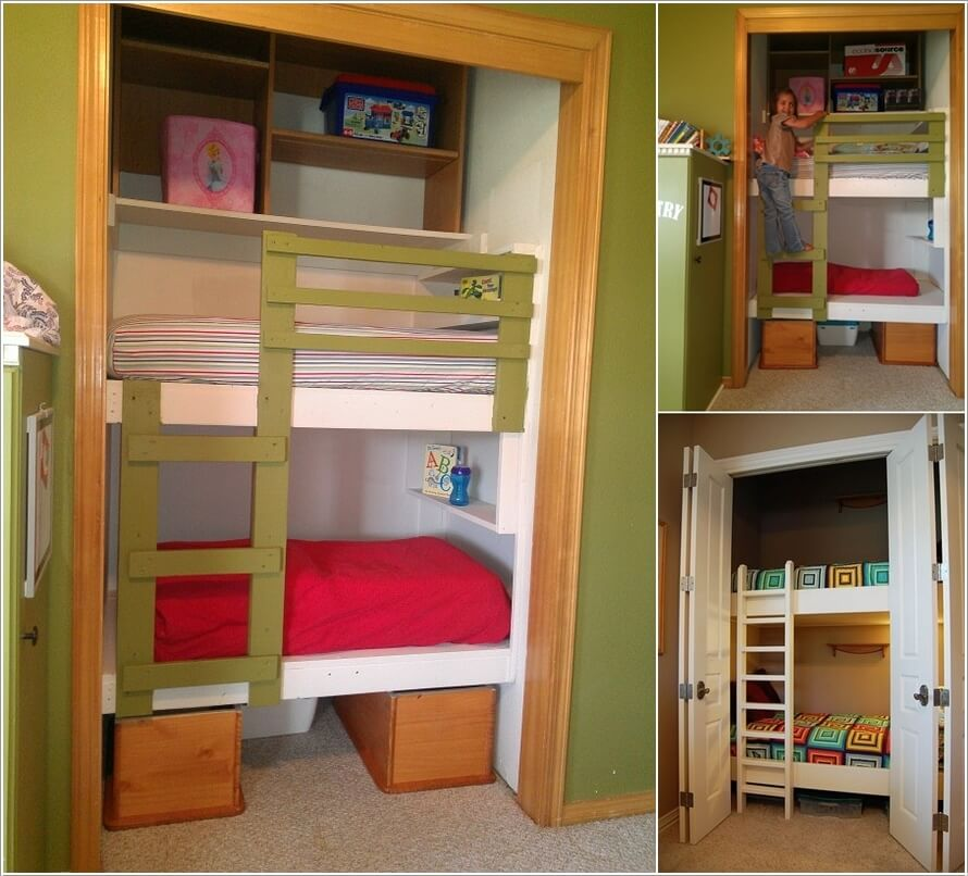 15 Clever Ways to Claim An Unused Closet Space 15
