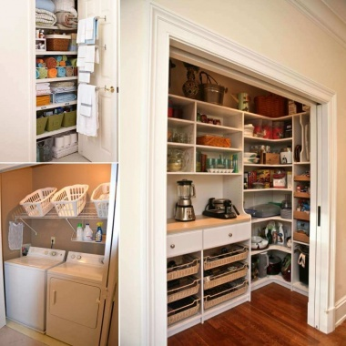 15 Clever Ways to Claim An Unused Closet Space fi