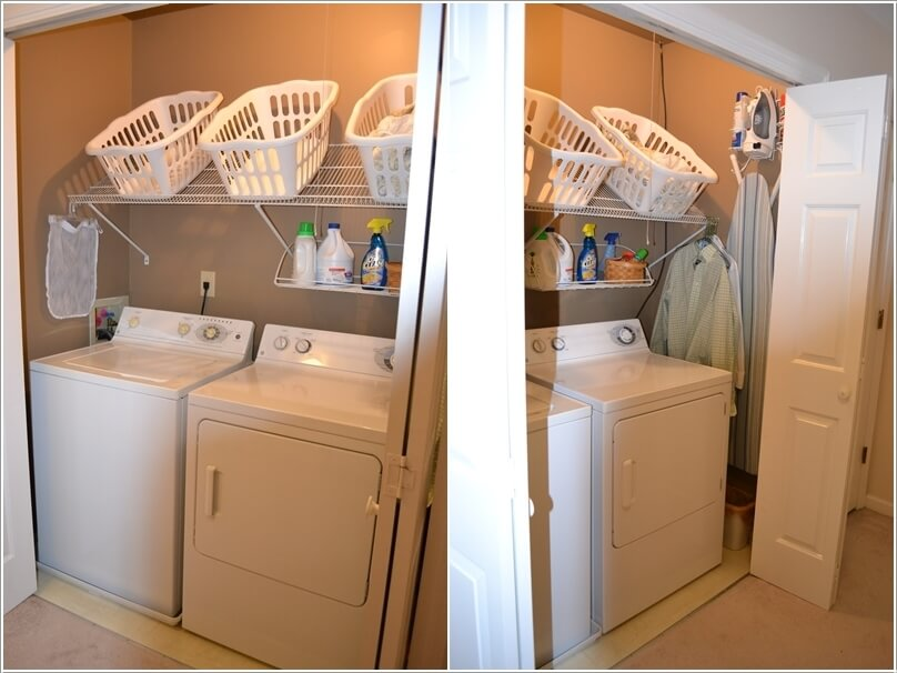 15 Clever Ways to Claim An Unused Closet Space 3