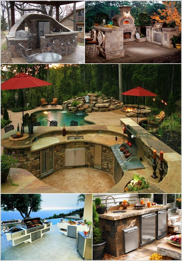47 Amazing Outdoor Kitchen Designs That Will Take Your ...