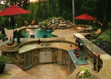 47 Amazing Outdoor Kitchen Designs That Will Take Your Breath Away fi