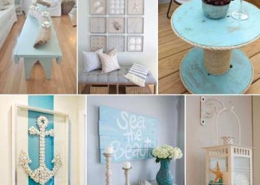 50 Amazing DIY Nautical Home Decor Projects fi