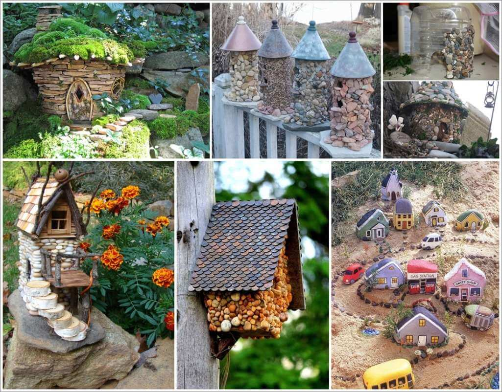 Adorably Cute Stone Houses for Your Garden 1