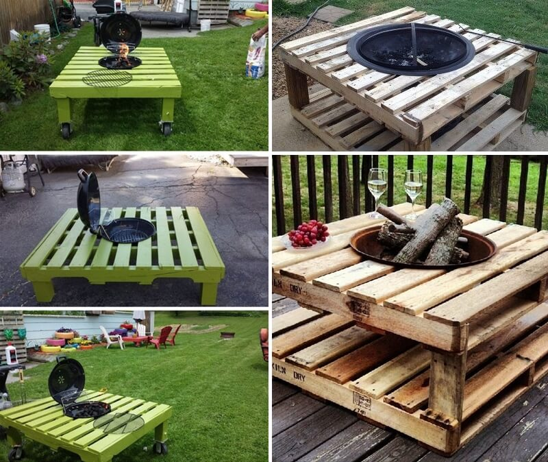 Goede Build a Pallet Fire Pit That Won't Break The Bank HW-37