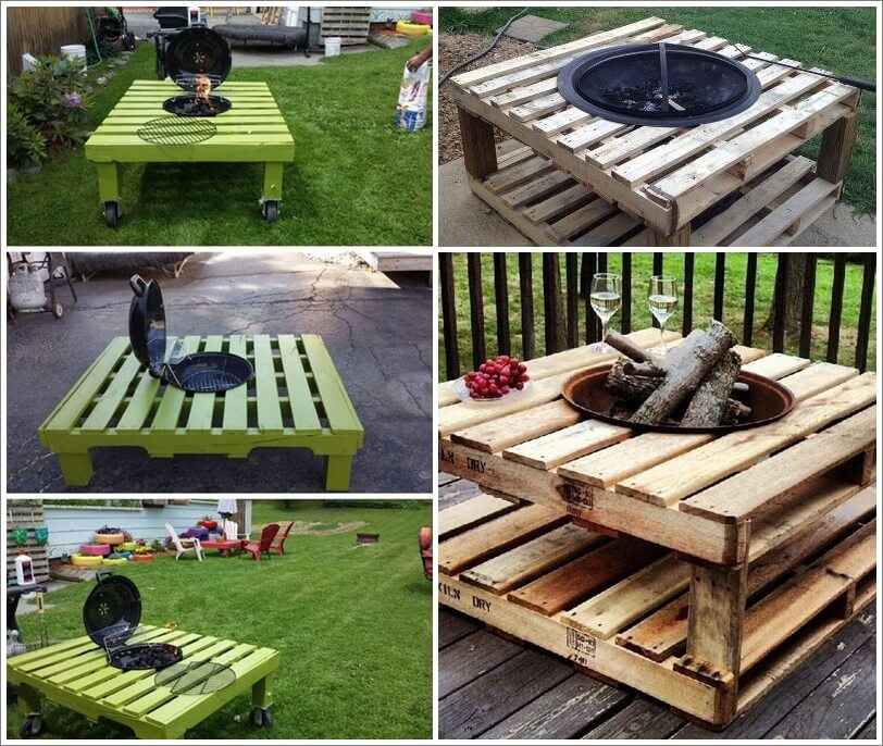 Build A Pallet Fire Pit That Wont Break The Bank