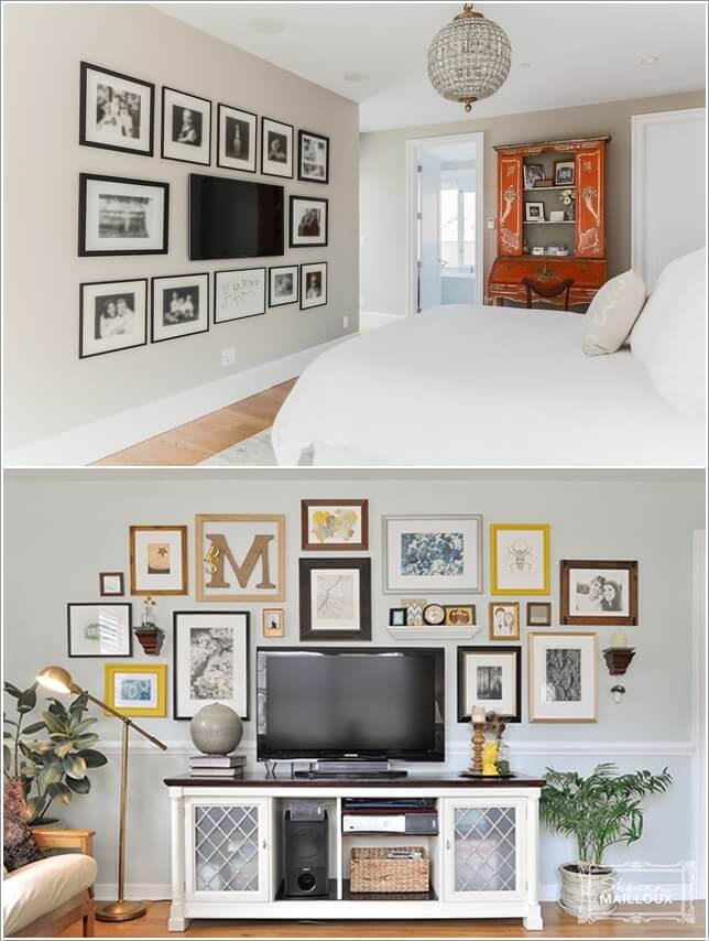 Design an Interesting and Chic TV Wall 5