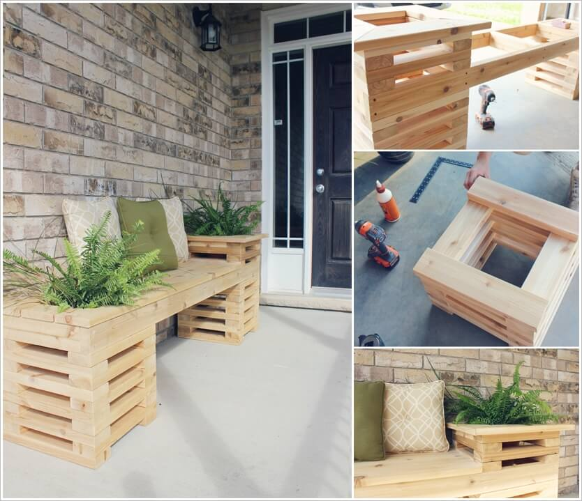 This Cedar Bench Will be a Perfect Addition to Your Porch 1