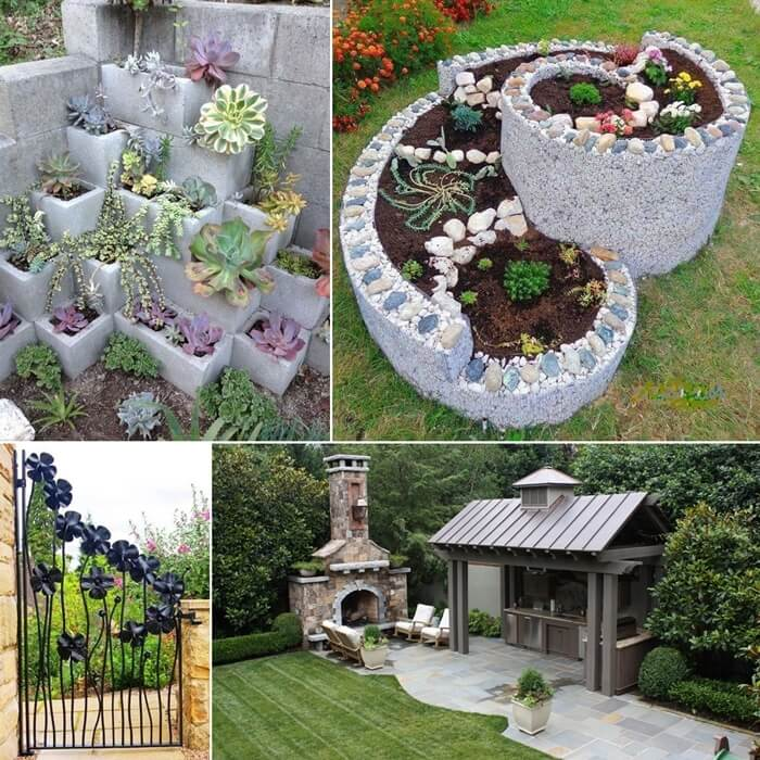 Top 32 Diy Fun Landscaping Ideas For Your Dream Backyard: Try These Cool Ideas To Spruce Up Your Garden This Summer