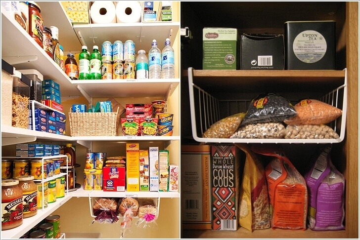 10 Clever Ideas to Store More in a Small Space Pantry 3