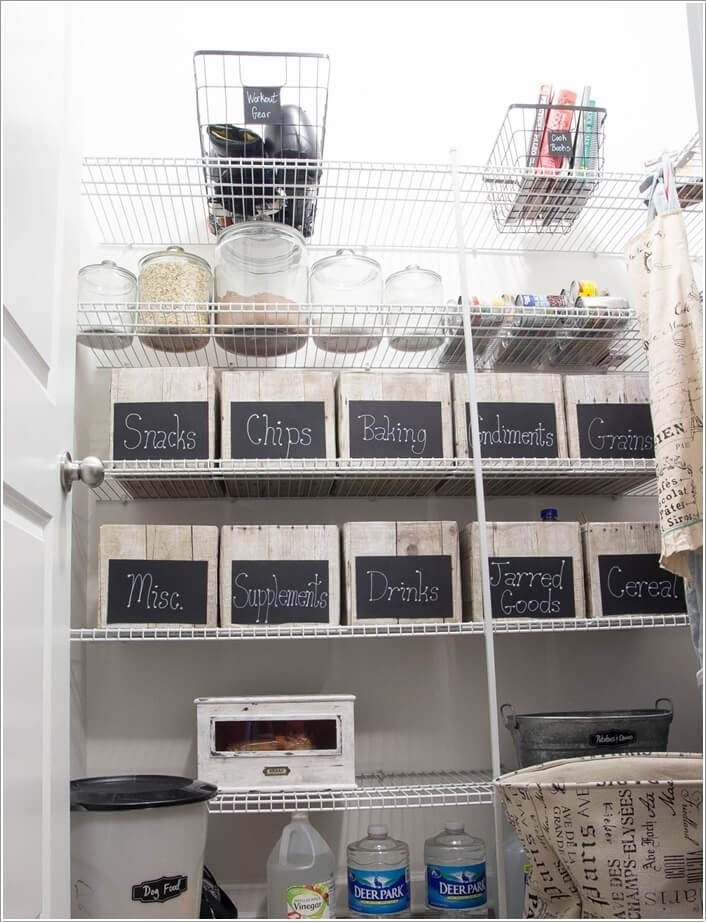 10 Clever Ideas to Store More in a Small Space Pantry 4