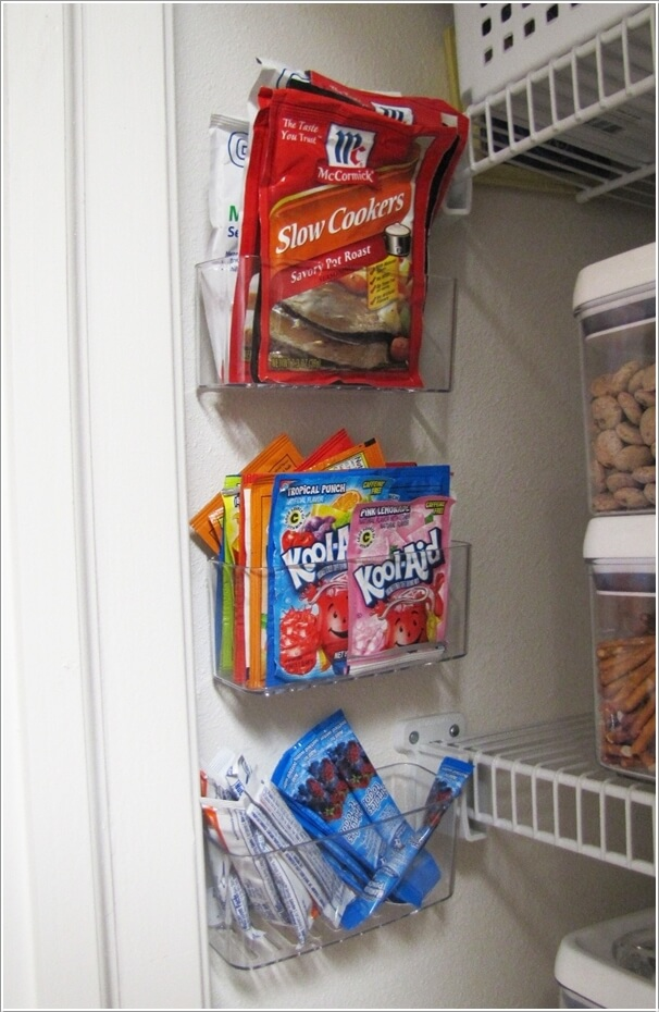10 Clever Ideas to Store More in a Small Space Pantry 5