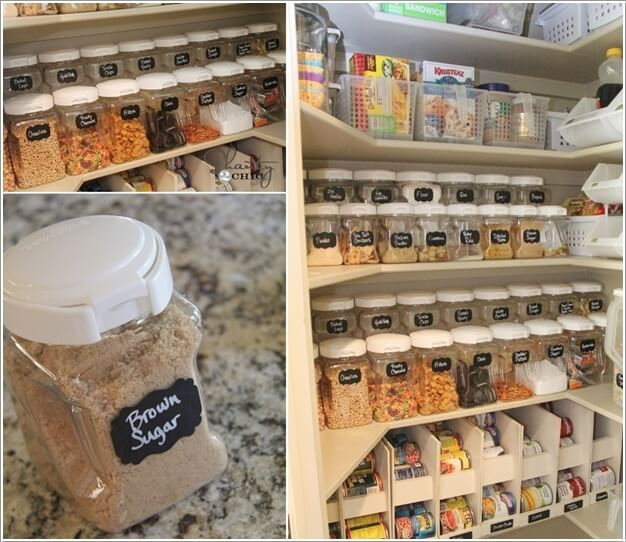 10 Clever Ideas to Store More in a Small Space Pantry 9