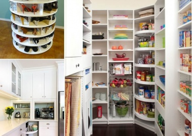 10 Clever Ways to Organize Your Home with Lazy Susans fi