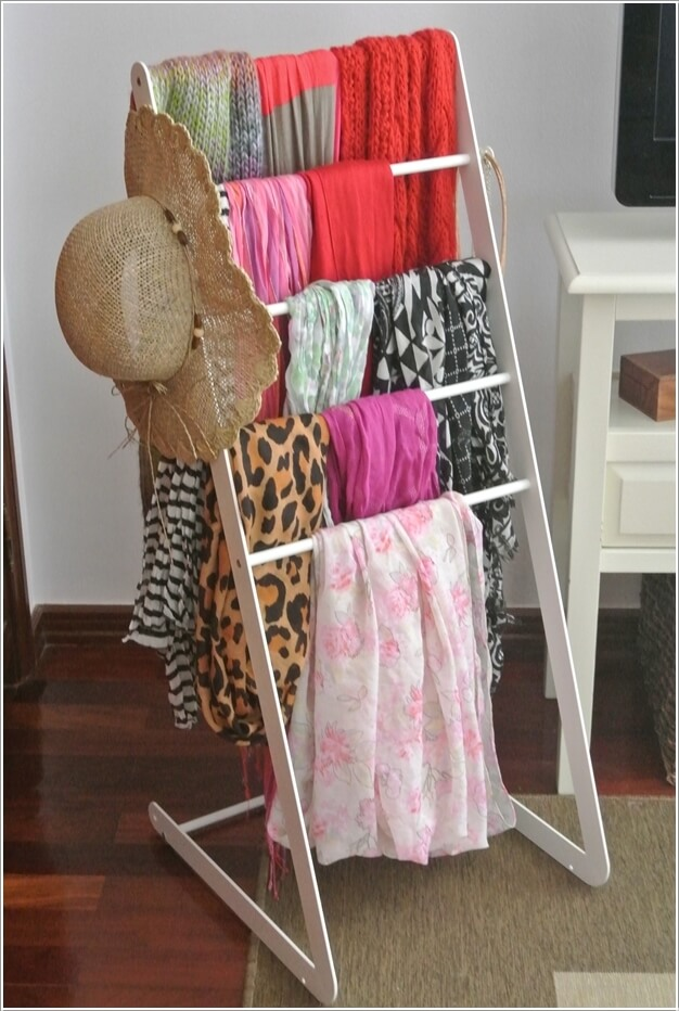 10 Clever Ways to Organize Your Scarves 6