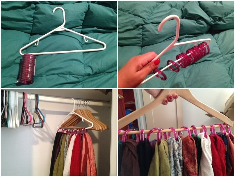 10 Clever Ways to Organize Your Scarves 7