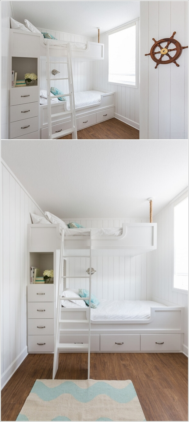 5 Clever Ways to Save Space in a Small Kids' Room 3