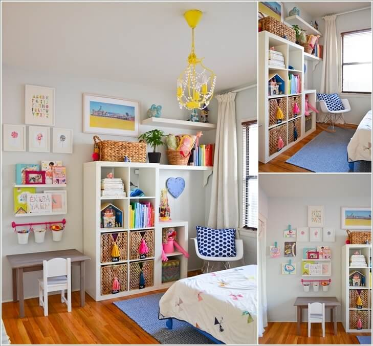 5 Clever Ways to Save Space in a Small Kids' Room 4