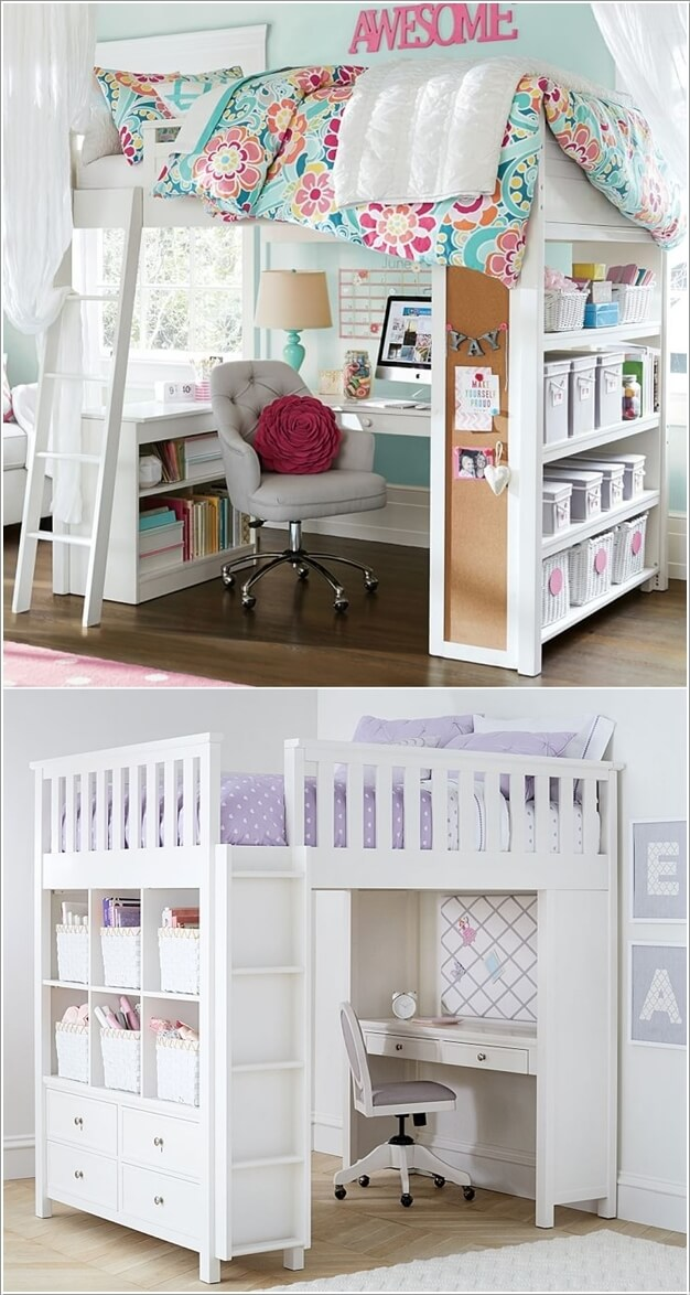 5 clever ways to save space in a small kids room 21289 | 10 clever ways save space small kids room 4