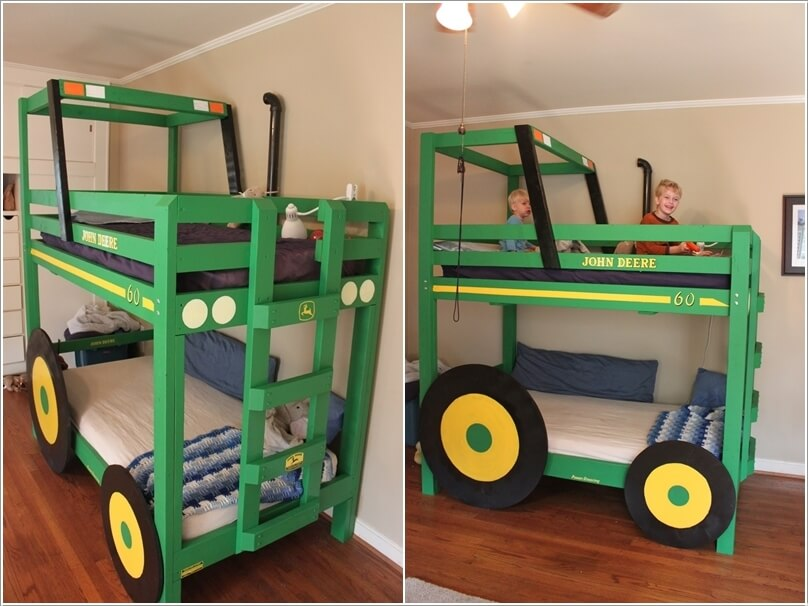 Captivating 10 Cool DIY Bunk Bed Ideas For Kids 2