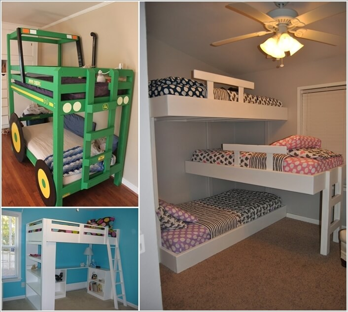 Awesome Beds: 10 Cool DIY Bunk Bed Designs For Kids