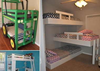 10 Cool DIY Bunk Bed Ideas for Kids fi