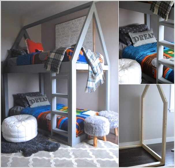 wonderful Diy Kids Bed Ideas Part - 6: 10 Cool DIY Bunk Bed Ideas for Kids 6