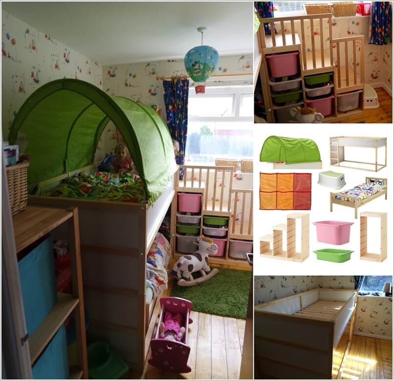 10 Cool DIY Bunk Bed Ideas for Kids 10