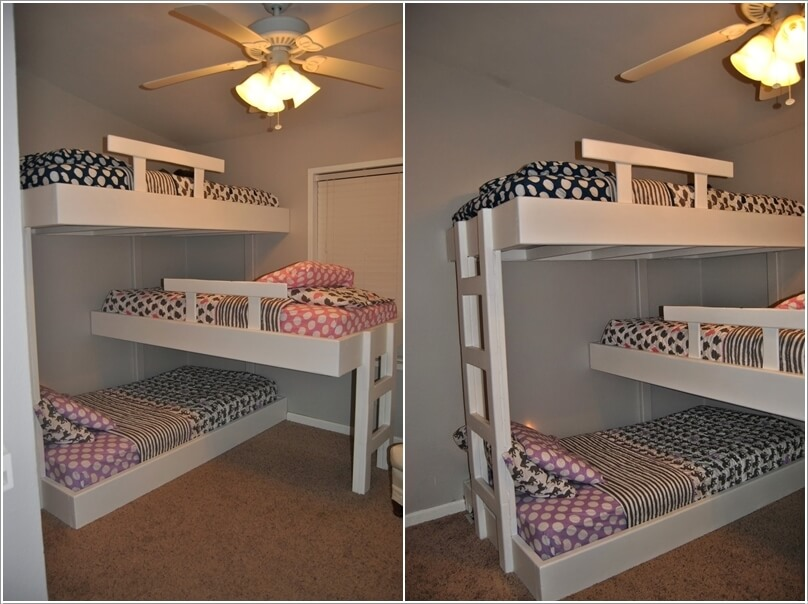 10 cool diy bunk bed designs for kids - Cool loft bed designs ...