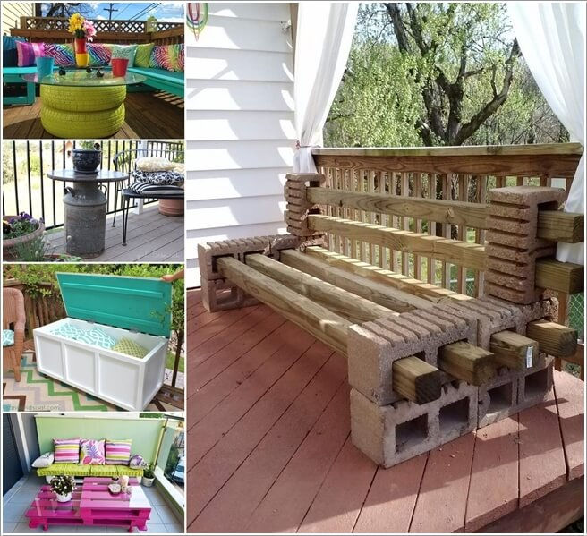 Genial 10 Cool DIY Furniture Pieces For Your Balcony A