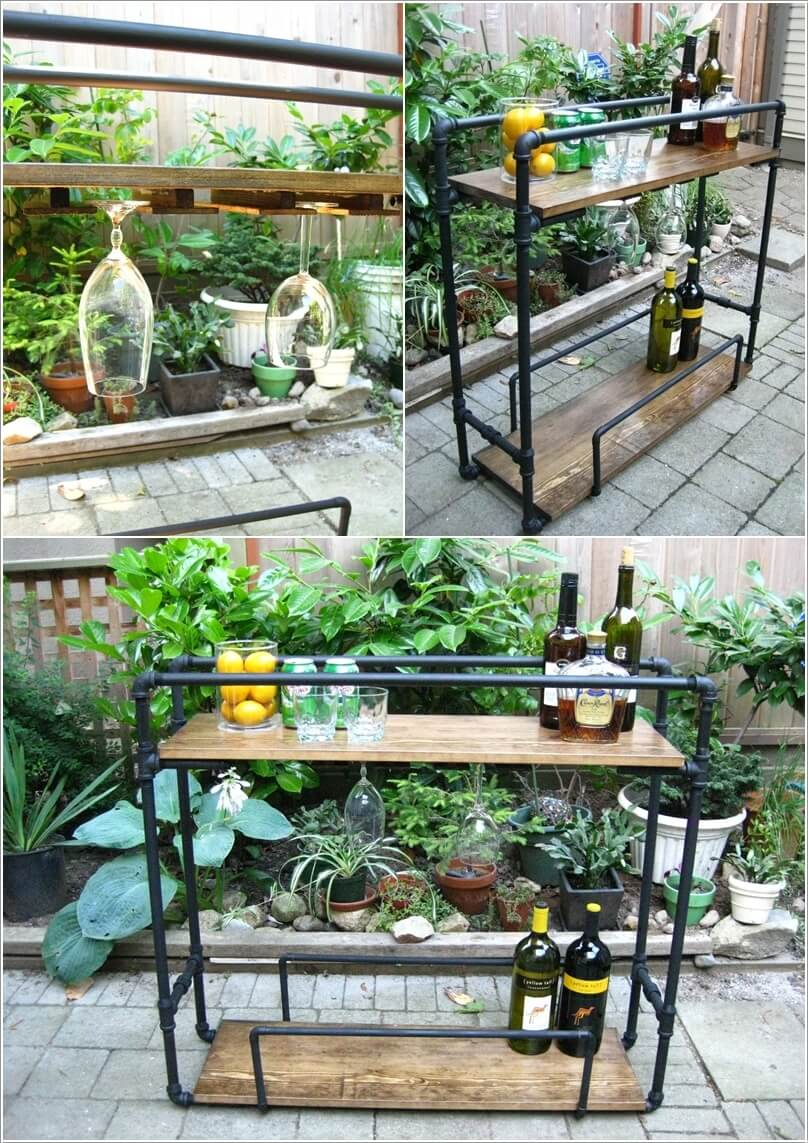 10 Cool Diy Outdoor Bar Ideas For Summer