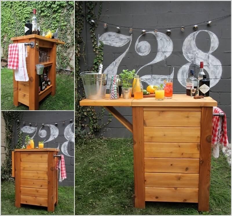 51 Cool Home Mini Bar Ideas: 10 Cool DIY Outdoor Bar Ideas For Summer