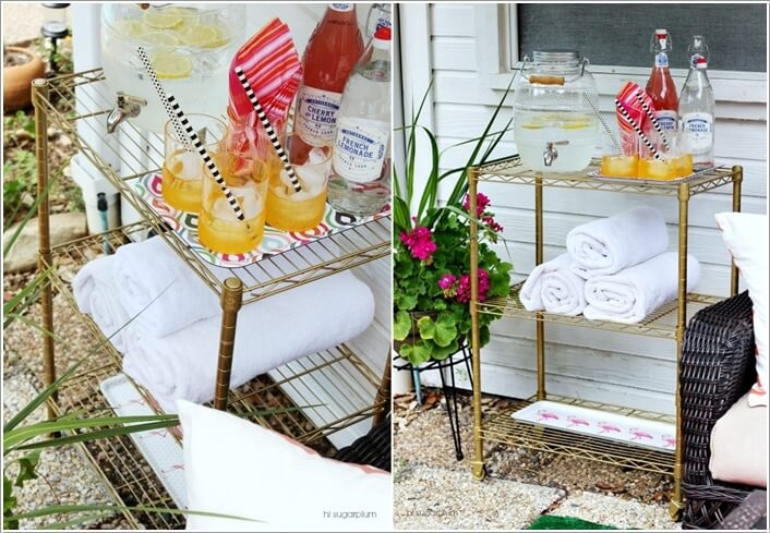 10 Cool DIY Outdoor Bar Ideas for Summer 7