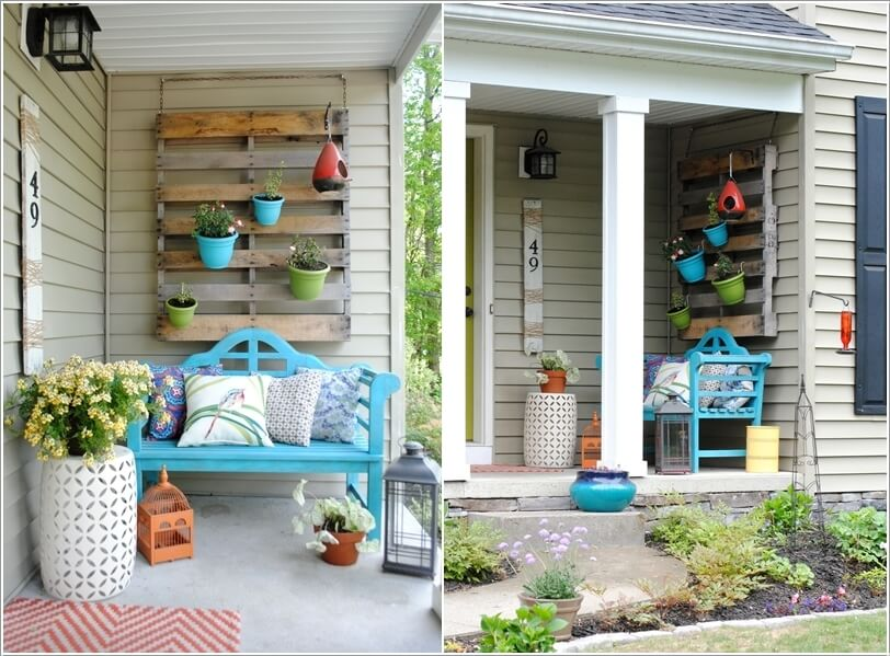 summer front porch decor : front patio decorating ideas - www.pureclipart.com